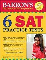 Boek cover 6 SAT Practice Tests van Philip Geer (Paperback)