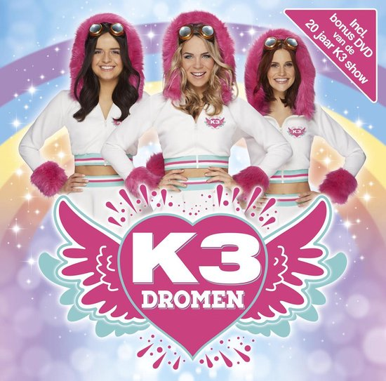 CD cover van Dromen van K3