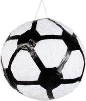 UNIQUE - Piñata in de vorm van een voetbal - Decoratie > Feest spelletjes