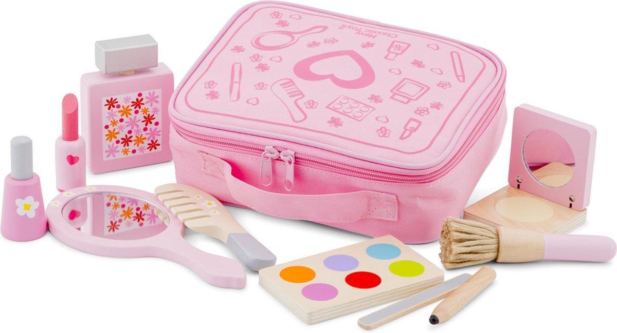 New Classic Toys Houten Make Up Koffertje