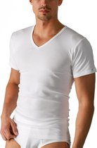 Mey Heren Basics T-Shirt V-Neck 2807 101 Wit