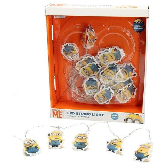 Minions Led Lichtsnoer - 3.10M | Deze Kevin, Bob en Stuart Lampjes Geven Magie aan de Slaapkamer van je Kinderen | Lampen voor Jongens en Meisjes | Lichtslang | Verlichting