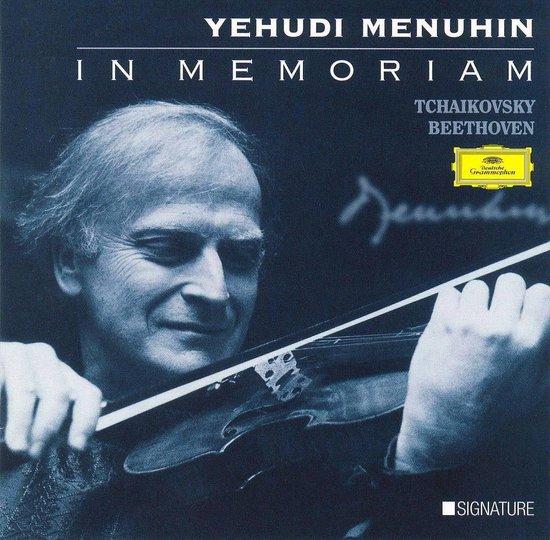 Yehudi Menuhin - In Memoriam - Tchaikovsky, Beethoven