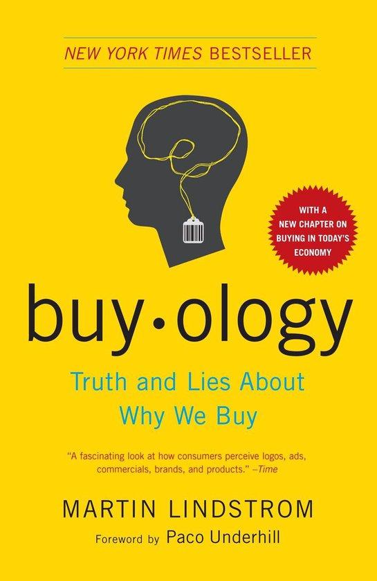 Boek cover Buyology van Martin Lindstrom (Paperback)
