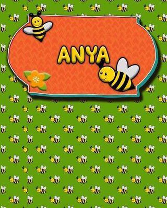 Handwriting Practice 120 Page Honey Bee Book Anya