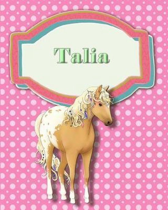 Handwriting and Illustration Story Paper 120 Pages Talia