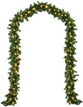 Monzana Decoratieve Kerstguirlande - 5 meter - 100 LEDs - In-/outdoor