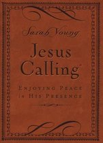 Jesus Calling, Small Brown Leathersoft, with Scripture references