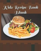 Kids Recipe Book Blank