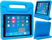 iPad 2017 Kids Proof Case Kinder Hoesje Kids Case Shock Cover - Blauw