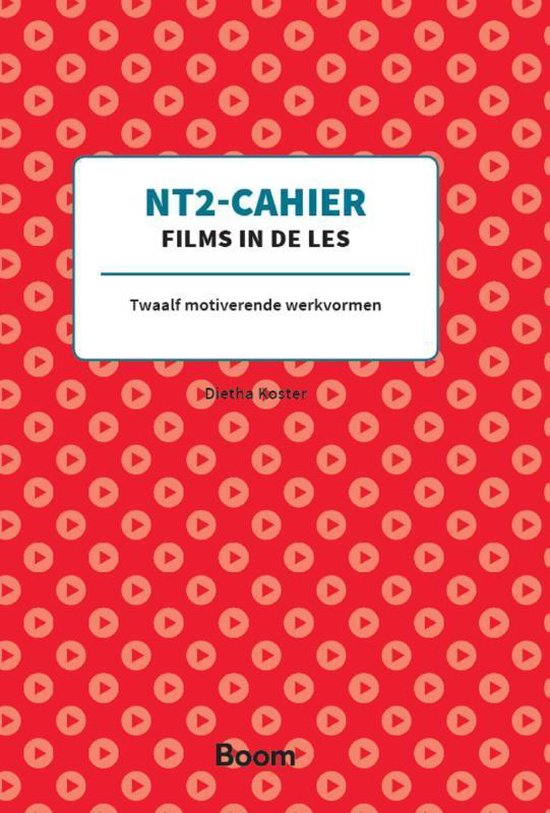 NT2-Cahier Films in de les - Dietha Koster | Readingchampions.org.uk
