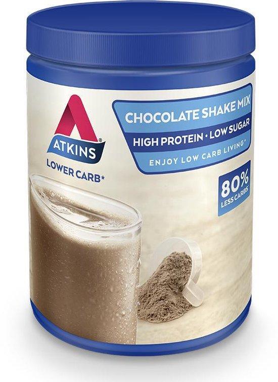 Atkins Advantage Chocolade Mix Maaltijdshake - 370 gram