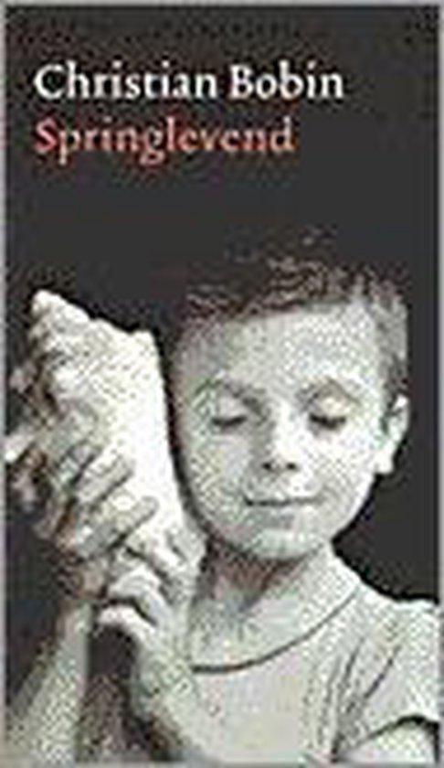 Boek cover Springlevend van Christian Bobin (Paperback)