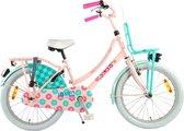 Volare Ibiza Kinderfiets - Meisjes - 20 inch - Roze - 95% afgemonteerd