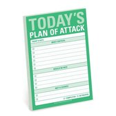 Knock Knock Todays Plan of Attack Great Big Stickies