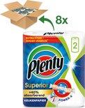 Plenty Superior keukenpapier - 8 x 2 rollen