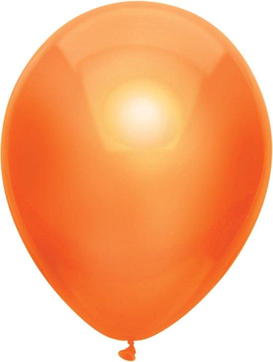Haza Original Ballonnen Metallic Oranje 10 Stuks
