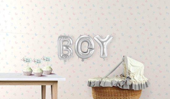 14in/36 Foil Kit Boy Silver