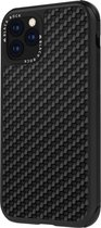 Black Rock Cover Real Carbon iPhone 11 zwart