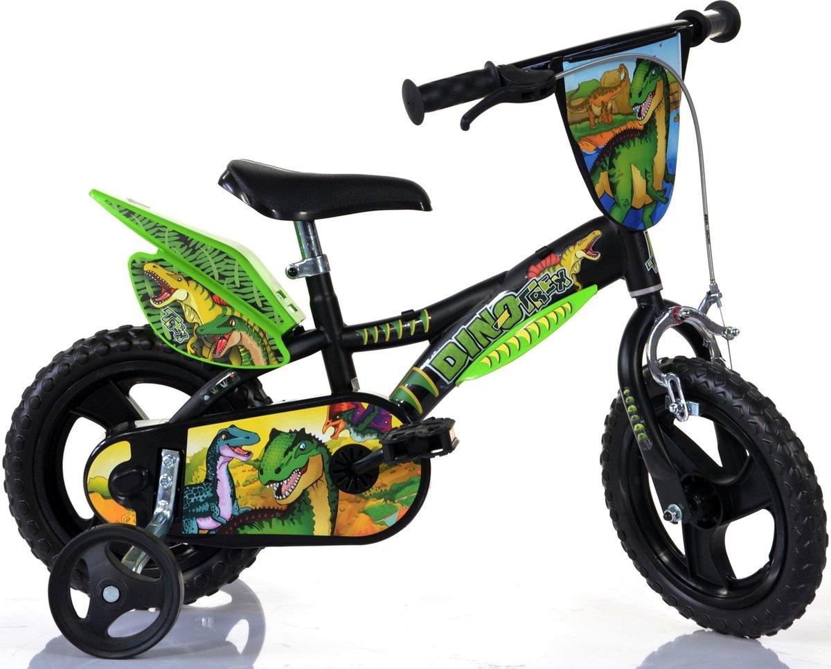 Dino Bikes Kinderfiets dinosaurus 12 inch (612LDS) online kopen