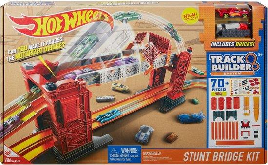 Afbeelding van Hot Wheels Track Builder Stuntbrug Set - Racebaan