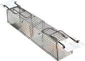 Rattenvangkooi met 2 ingangen - Voor levende vangst van knaagdieren