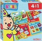 Bumba - Bordspel - 4 in 1 - puzzel, lotto, domino en memo