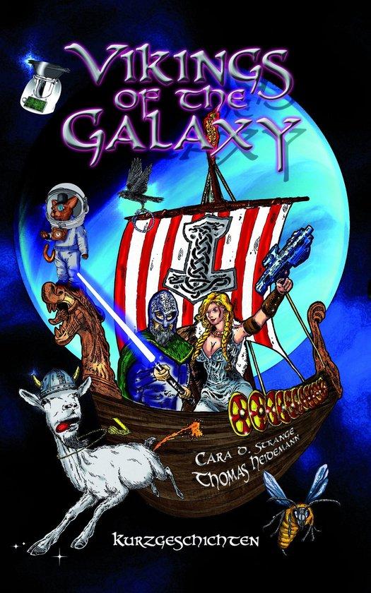 Boek cover Vikings of the Galaxy van Alexandra Baginsky (Onbekend)