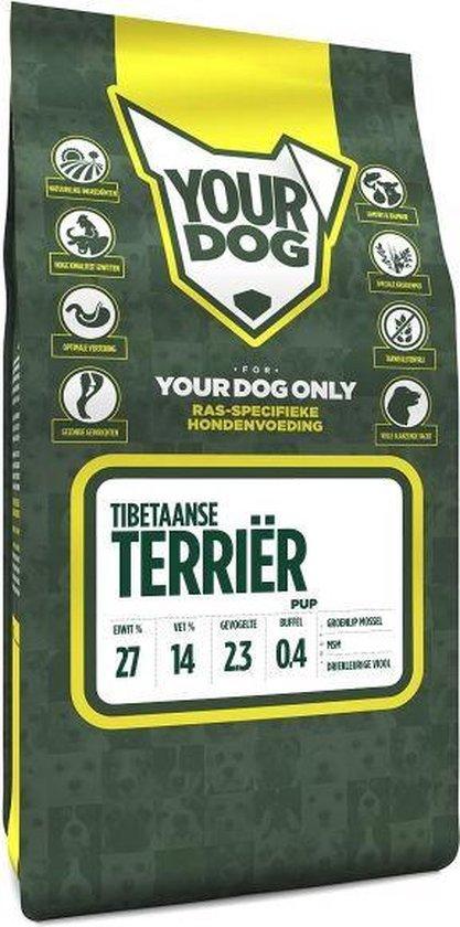 Yourdog tibetaanse terriã?r hondenvoer pup 3 kg