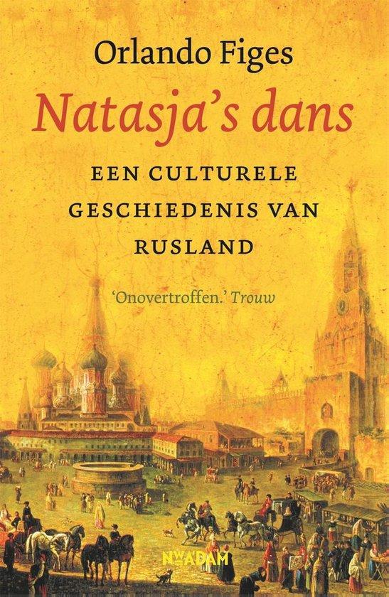 Boek cover Natasjas dans van Orlando Figes (Onbekend)