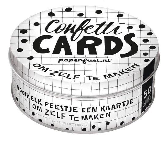 Paperfuel confetti cards om zelf te maken - none   Readingchampions.org.uk