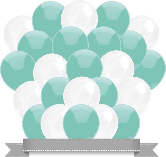 Ballonnen Mint / Wit (30ST)