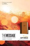 Message Deluxe Gift Bible, Brown
