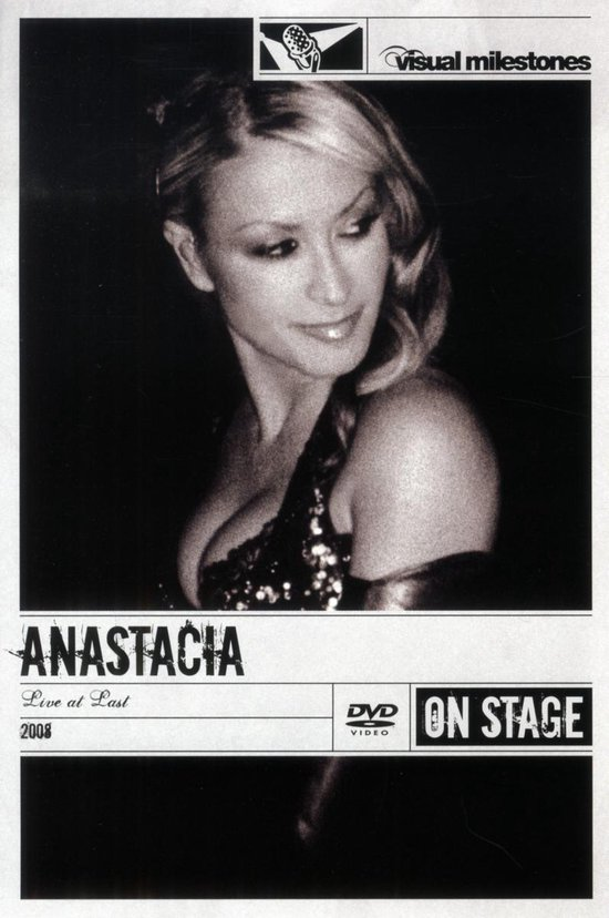 Cover van de film 'Anastacia - Live At Last'