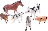 Animal World boerderijdieren 6 in zak
