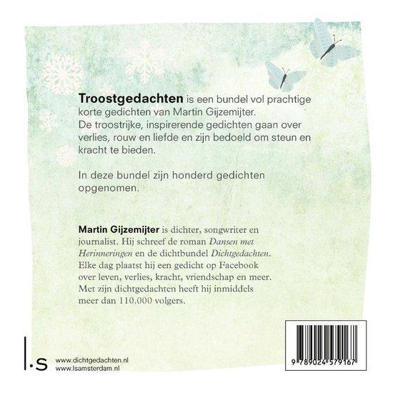 Verwonderlijk bol.com   Troostgedachten, Martin Gijzemijter   9789024579167   Boeken OM-61