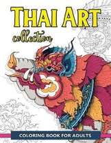 Thai Art Collection Coloring Book for Adults