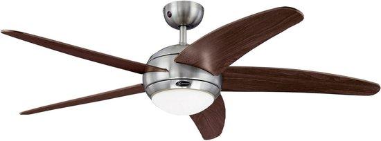 Westinghouse Bendan – Plafondventilator met lamp - Bruin