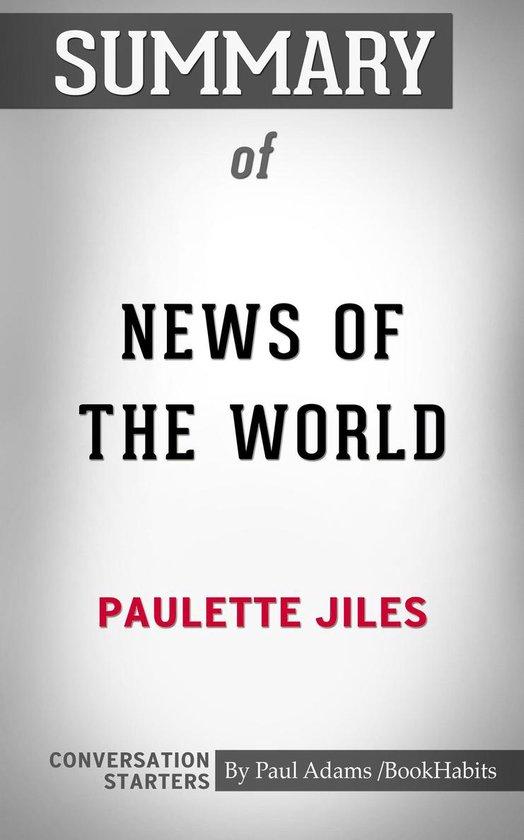 Boek cover Summary of News of the World van Paul Adams