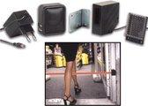 PEM7D winkel deurbel werkt met infraroodstraal