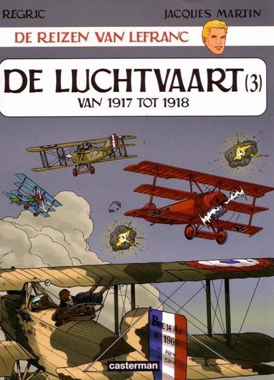 Cover van het boek 'De luchtvaart' van J. Martin