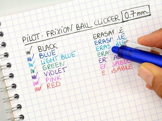Frixion Ball pen Clicker blue/black 0,7