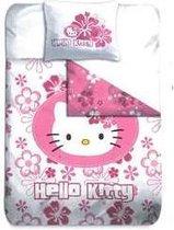 Hello Kitty Pink Flower dekbedovertrek