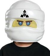 LEGO NINJAGO Zane masker voor kinderen - Verkleedmasker