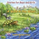 Boek cover A Walk in the Wind van Danielle Michaud Aubrey