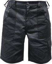BRIDGE Werkbroek shorts zwart maat 48
