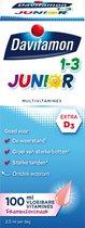 Davitamon Junior 1+ vloeibare vitamines - framboos - 100 ml