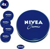 NIVEA Crème - 4 x 400 ml - Bodycrème