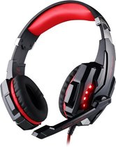KOTION EACH G9000 - Gaming Headset - Multi Platform - Zwart/Rood
