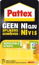 Pattex Super Montage Strip Verwijderbaar